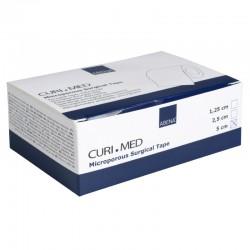Microporous tape, Abena Curi-Med, 9,14 m x 5 cm, hvid, usteril