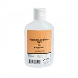 Plum hånddesinfektion 85%, gel, 120 ml flaske.