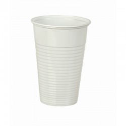 Drikkebæger 21 cl, hvid, 100 stk