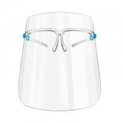Face shield visir med brille, 1 stk.